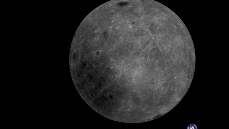 Histórica foto de la Tierra y el lado oculto de la Luna