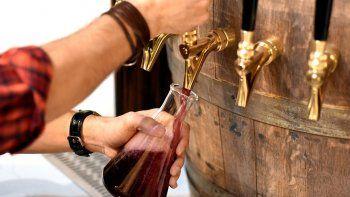 la cerveceria que impulso la venta de vino tirado