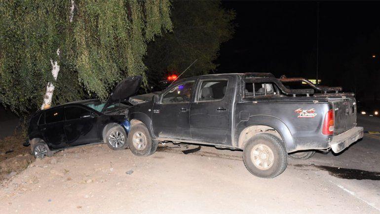 Conducía borracho y provocó un choque en cadena: destruyó cuatro vehículos