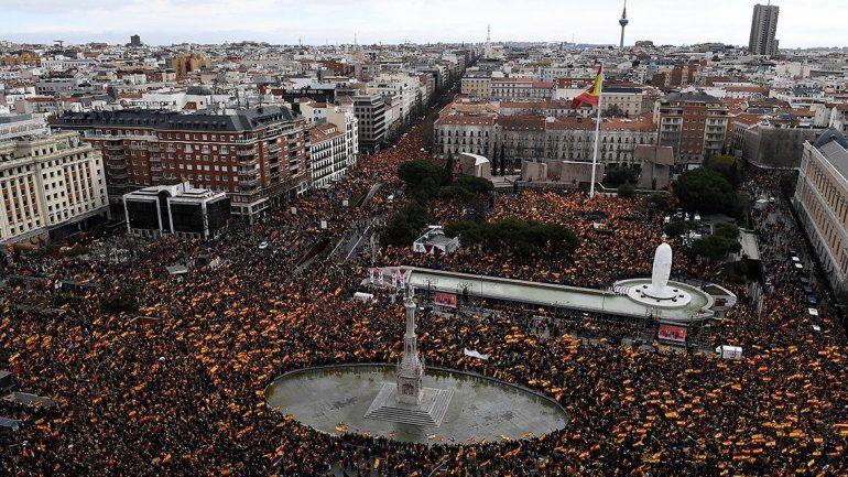 España: marcha contra Sánchez
