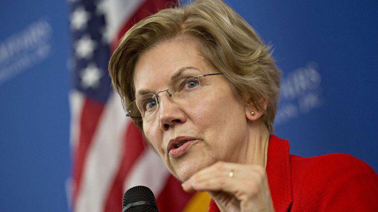 La senadora Warren se candidateó para presidente de EE.UU