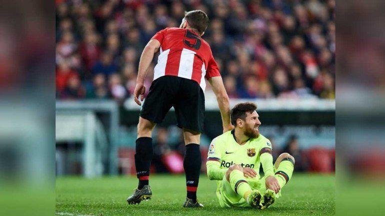 Messi fue titular pero no pudo sacar a Barcelona del empate