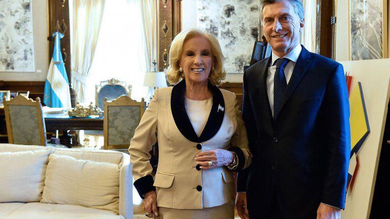 Mirtha dijo que, por sus críticas, no festejó con Macri