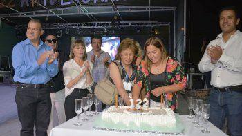 las lajas cumplio 122 anos con cuatro dias a pleno festejo