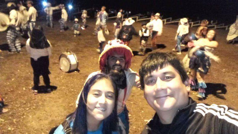 En Bajada del Agrio anticiparon la fiesta de carnaval