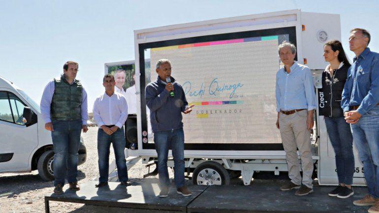 En Añelo, Pechi mostró sus planes de infraestructura