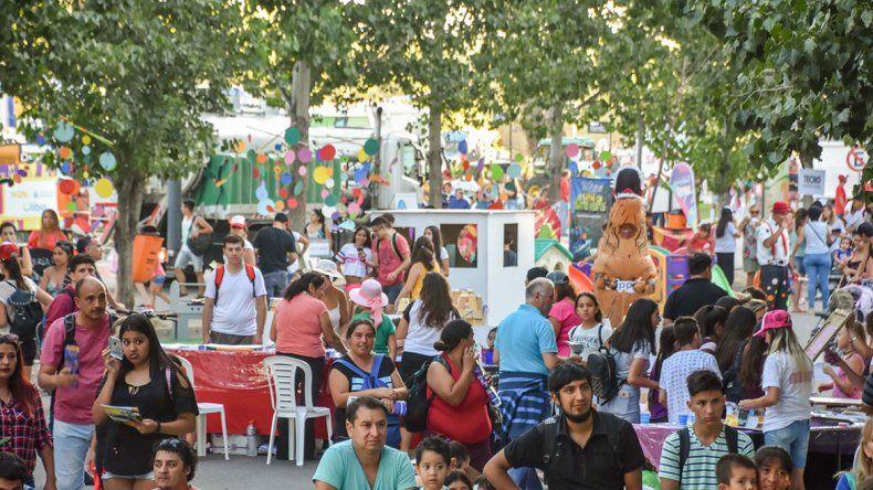 La Fiesta de la Confluencia trajo el turismo a Neuquén