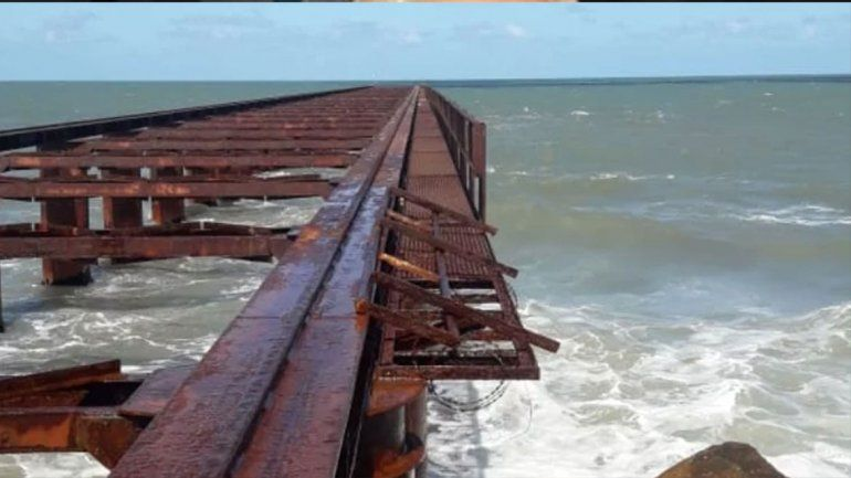 Mar del Plata: murió  un nene de 6 años tras caer de un antiguo muelle
