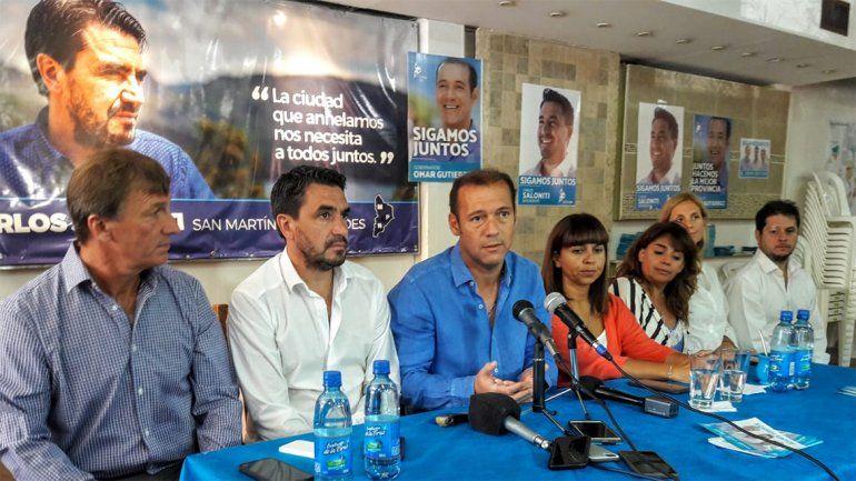 Gutiérrez en San Martín de los Andes: Somos la única provincia que crece
