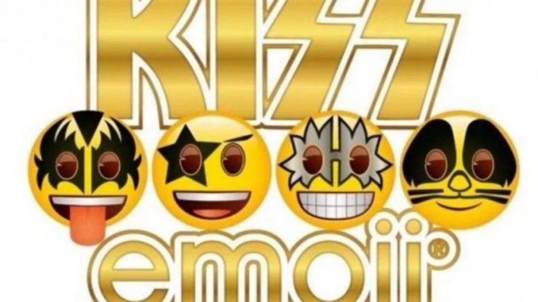 Kiss ya tiene todo listo para lanzar sus propios  emojis