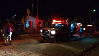 le incendiaron la casa a un detenido por violento tiroteo