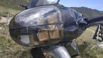 impactante: un helicoptero cayo y un pasajero grabo el momento