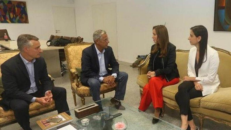Quiroga habló con Vidal sobre cómo combatir las mafias