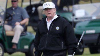 simulador de golf para trump en la casa blanca
