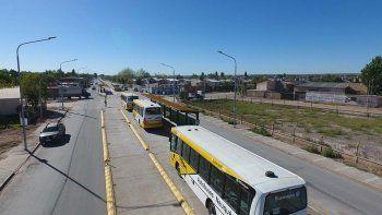 en una semana se inaugurara un tramo del metrobus