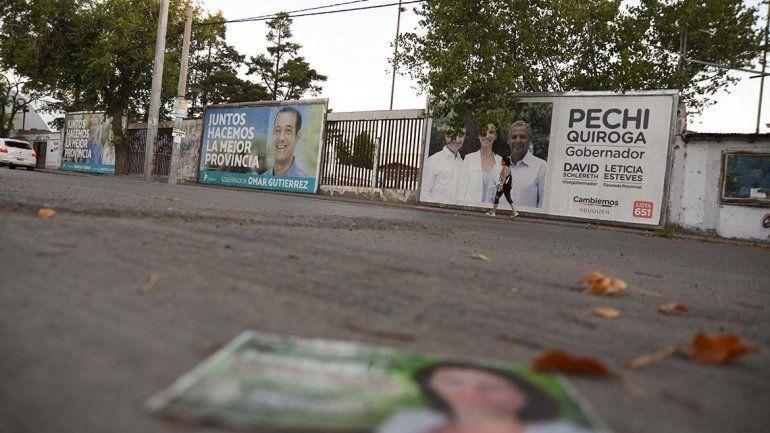 Comienzan a multar a los partidos políticos por las pintadas