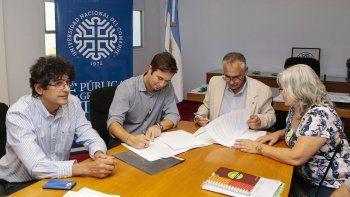 provincia y unco firman convenios de cooperacion mutua