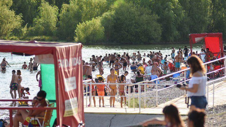 Asistencia récord: 180 mil personas fueron al río la semana pasada