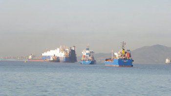 momentos de tension en las aguas de gibraltar