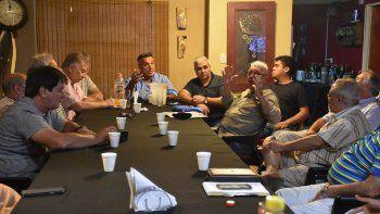 pechi se reunira con comerciantes en la lucha contra los tarifazos