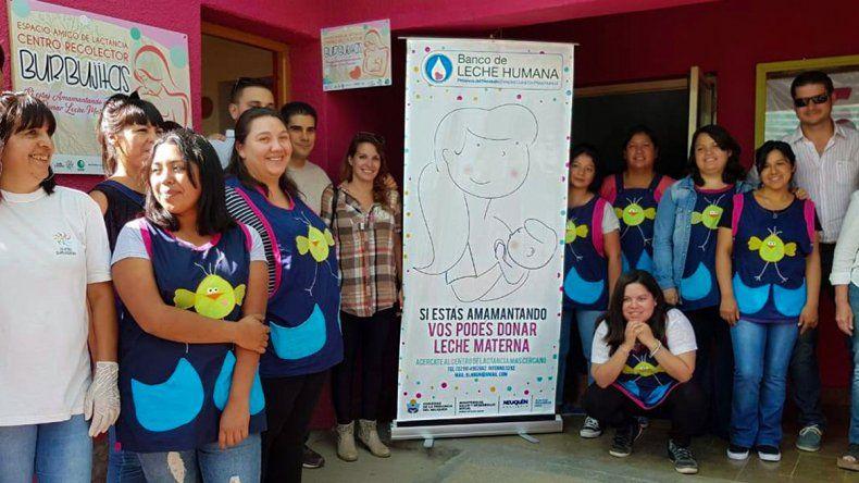 En Junín abren nuevo lugar para juntar leche materna