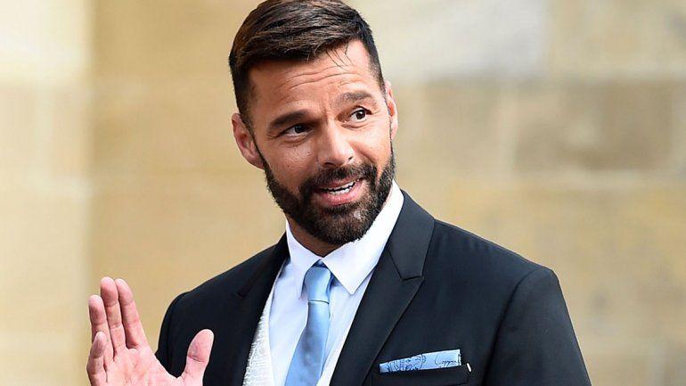 Ricky Martin hizo furor en Instagram tocándose su parte íntima