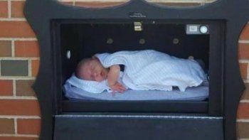 buzones para abandonar a los recien nacidos