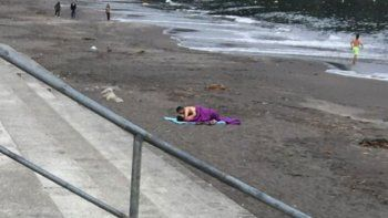 chile: revuelo por una pareja que tuvo sexo en la playa
