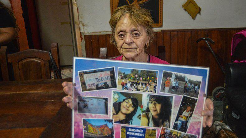 Murió la mamá de Carina Apablaza y abuela de Valentina, víctimas del doble femicidio