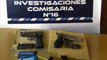 allanamientos por abuso de armas en uocra: hay dos demorados