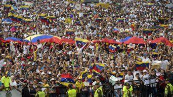 segui el venezuela aid live con sanz, mana y juanes, entre otros