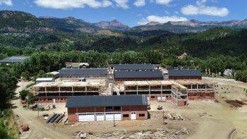 avanzan las obras del nuevo hospital de san martin de los andes