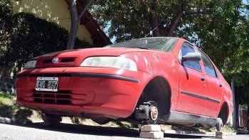 el robo de ruedas, un gran negocio millonario dificil de frenar