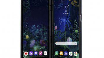 lg les compite a los celulares plegables con dos pantallas