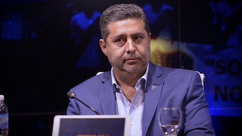 Angelici: De Rossi será jugador de Boca en un 99 por ciento