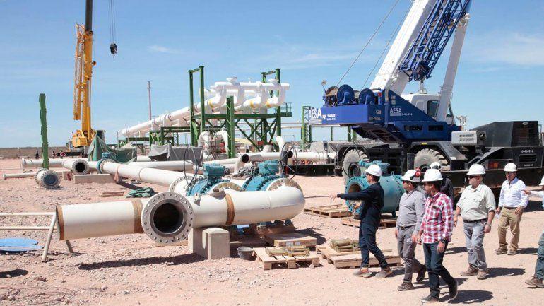 TGS mostró sus gasoductos y la planta acondicionadora