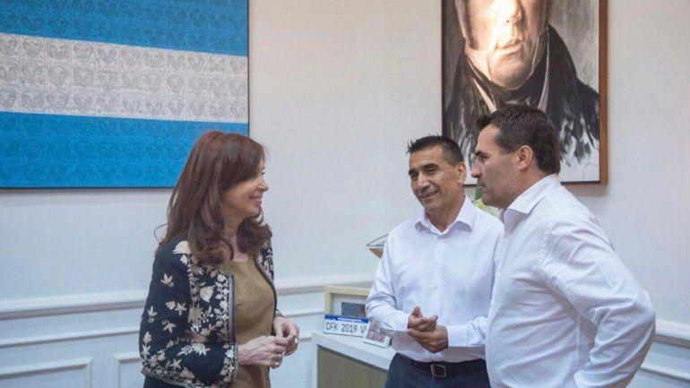 Cristina Kirchner reiteró su apoyo a Rioseco y prestó su voz en un spot