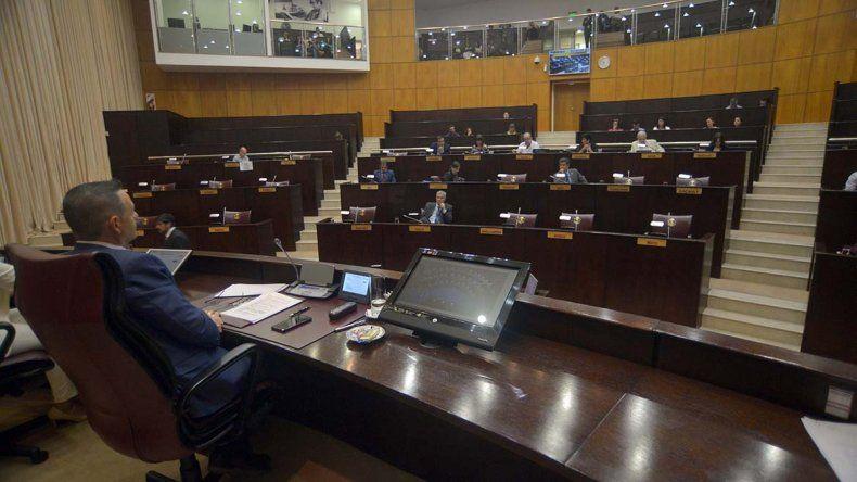 Con faltazo k, la Legislatura sesionó por primera vez en el año