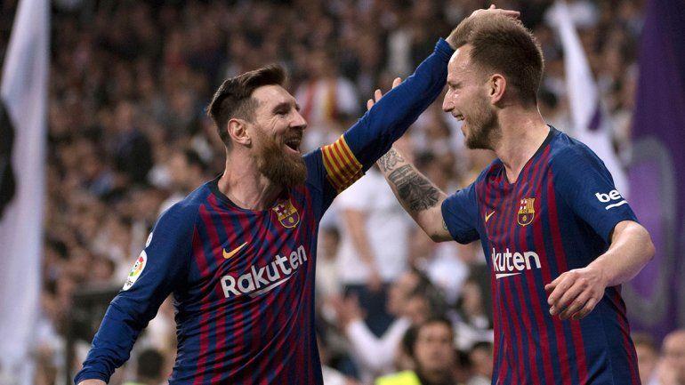 Barcelona le dio un nuevo golpe al Real Madrid en el Bernabéu