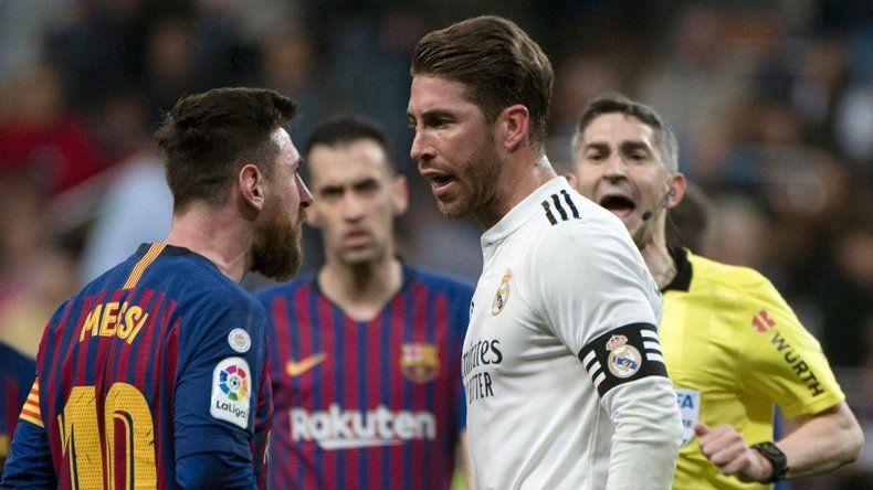 El cruce por el que Messi y Sergio Ramos casi se van a las manos