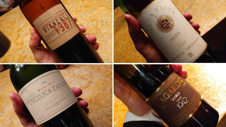 Joyitas no tan perdidas: vinos argentinos de las décadas del 70, 80 y 90