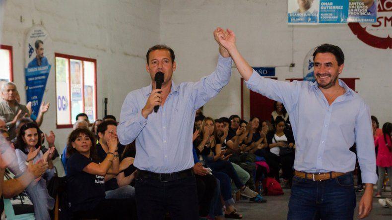 Gutiérrez pidió votar defendiendo los intereses de los neuquinos