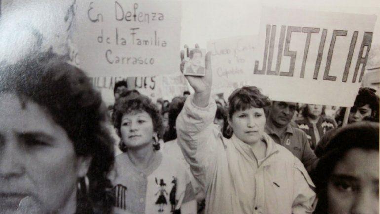 Hubo manifestaciones en todo el país para pedir justicia.