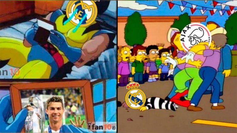 Con memes, el mundo se burló del difícil presente del Real Madrid