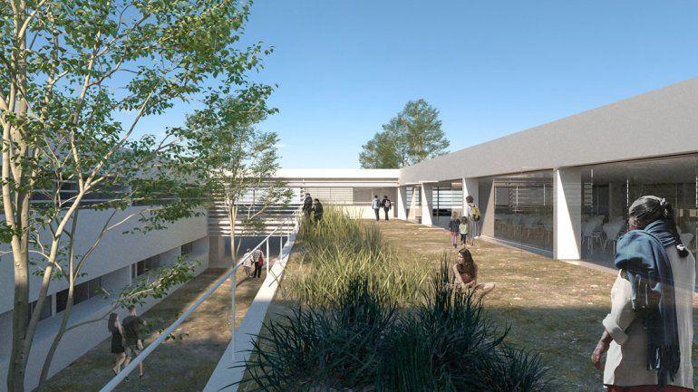 Se conoció el proyecto ganador para construir el Hospital Norpatagónico