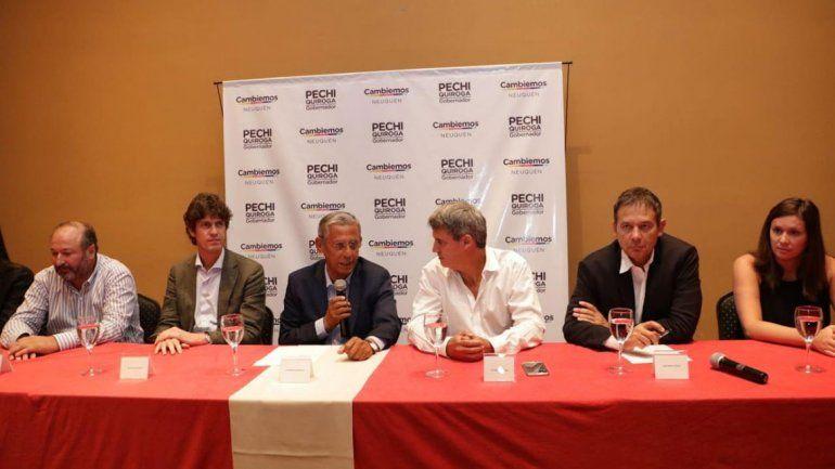 Radicales vinieron a Neuquén a dar su apoyo a Quiroga
