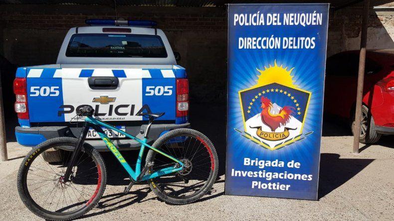 La Policía recuperó la bici robada a un ciclista en la Autovía Norte