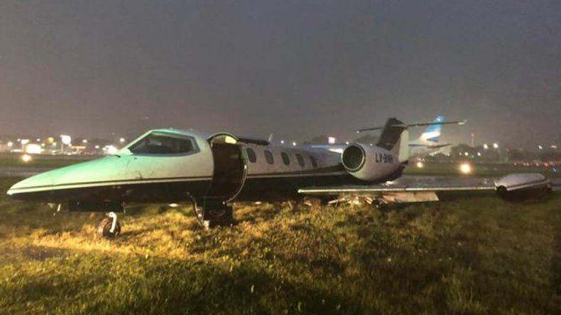 Suspendieron las actividades en Aeroparque por una tormenta: un vuelo que partió de Neuquén está demorado