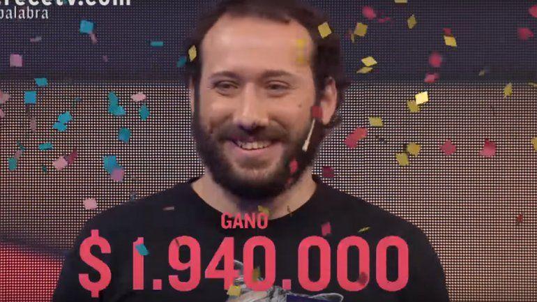 Pasapalabra tiene un nuevo campeón: se llevó más de dos millones de pesos
