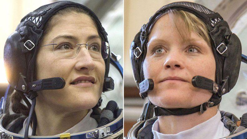 Histórico: dos mujeres caminarán solas el espacio